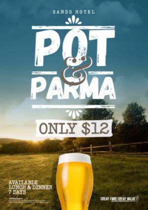 $12 Pot & Parma