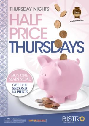 Half Price Thursdays
