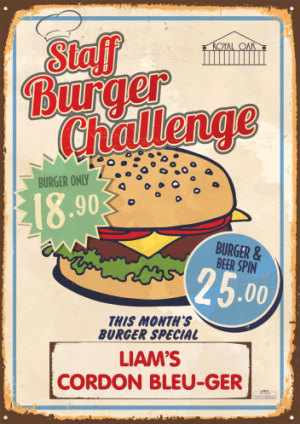 Staff Burger Competition