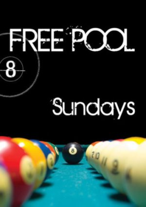Sundays Free Pool