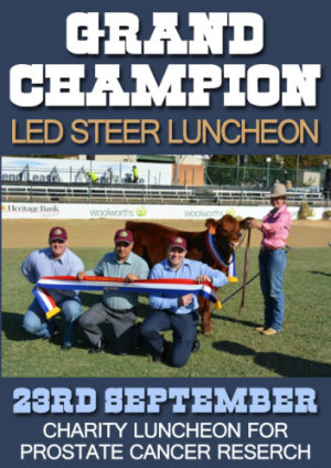 Grand Champion LED Steer Luncheon