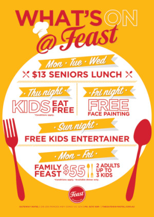 What's On At The Gateway Feast