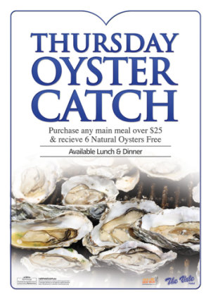 Thursday Oyster Catch