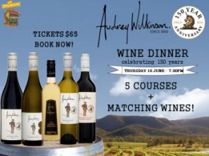 Audrey Wilkinson Wine Dinner