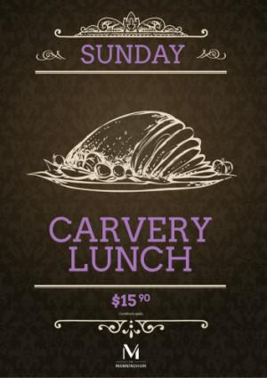 Sunday $15.90 Carvery Lunch