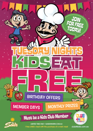 Kids Eat Free Tuesday Nights