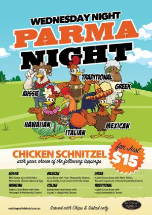 Wednesday Parma Night