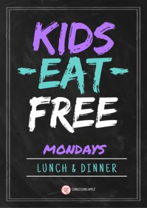Monday Kids Eat Free