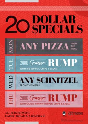 $20 Specials
