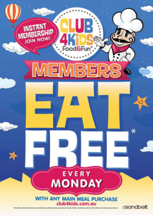 Kids Eat Free Mondays