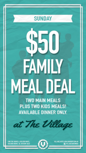 $50 Family Meal Deal