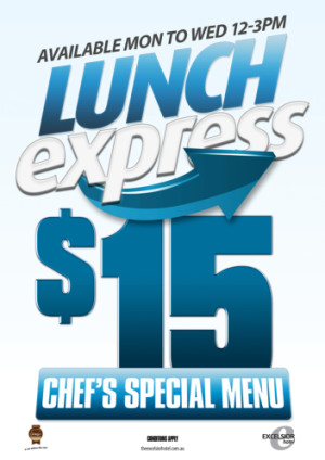 $15 Express Lunch