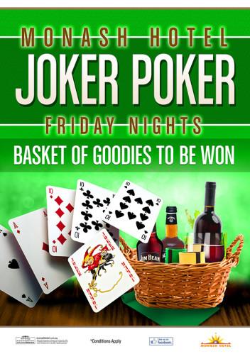 Friday Joker Poker!